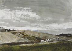 Andrew Wyeth (1917-2009) Harbor House 1985 (54,6 x 75,6 cm)
