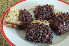 Fun recipe to make for a meeting snack! Nutella, Peanut Butter, and Chocolate Chip Sandwich Recipe