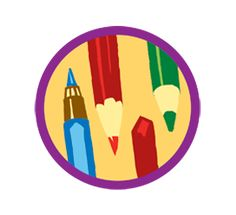 Junior Girl Scout Badge--Drawing. When you pick up your pencil, anything could leap from your mind onto a sheet of paper. That's what makes drawing so fun. In this badge, you'll find techniques to make your drawings even better—which will make it more fun to see what your imagination can do.