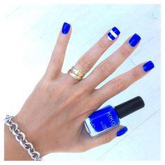 Navy con il blu 336 Kiko! ⚓️ #eglebreme #kiko #kikocosmetics #kikocosmeticsofficial #smalto #nailpolish #nailart #nails #unghie #manicure #navy #smaltodelgiorno