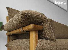 joystyle-interior | Rakuten Global Market: The oak wood oak solid wood oak natural wood natural taste wood frame カバーリングソファー domestic sofa wooden sofa 3 people, 3 P sofa ALBIREO-3P Internet shop limited edition original settings