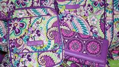 Huge Disney Vera Bradley Collection in Plums Up Mickey and Review