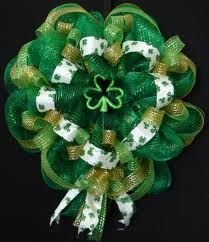 st patricks day wreaths - Google Search