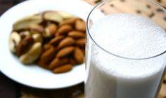 Los beneficios de la leche de almendra.