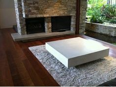 Lightweight Concrete Coffee Table