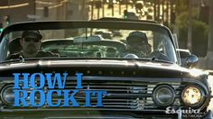 Mr. Cartoon & Lowriders | How I Rock It | Esquire Network Chevy Impala, My Rock, Dream Garage, Esquire, Old Cars, Vintage Cars, Classic Cars, The Past, Cartoon