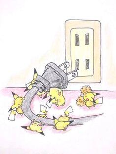 Pikachu tomada