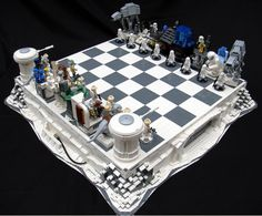 Lego Star Wars Chess Set!