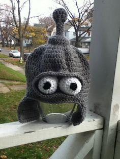 Bender Hat by karenswimmer on Etsy, $50.00