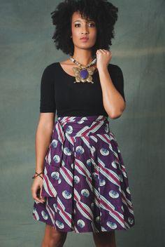 Kara Wrap & Go Skirt | Zuvaa