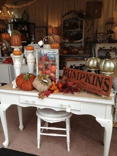 The Shabby Cottage Home: The Cottage...Dressed for Fall