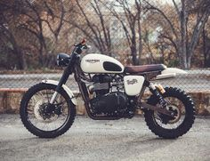 commedesmotards:  Bike of the Day #24: Triumph Scrambler by David and Felipe Lopez   look at you.