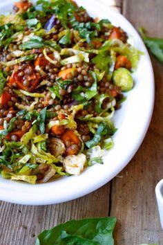 French Lentil and Vegetable Salad