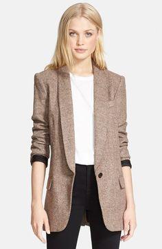 Looks like the perfect October blazer!   @nordstrom #nordstrom