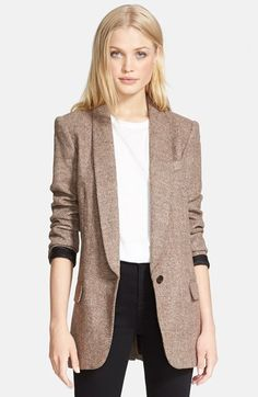 Looks like the perfect October blazer! | @nordstrom #nordstrom