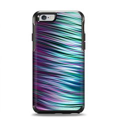 The Pink & Blue Vector Swirly HD Strands Apple iPhone 6 Otterbox Symmetry Case Skin Set