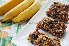 Barrinha de Cereal de Banana | Receitas e Temperos