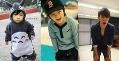 little donghae. ohwwww! so cute, i want a little kid like the 2nd and for that i need i husband like 3rd picture XD