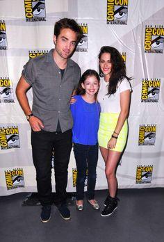 Rob, Mackenzie, and Kristen at Comic Con