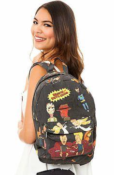 O-Mighty Beavis & Butthead Backpack on Wanelo