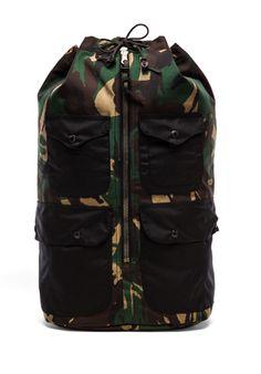 Filson Duffle Backpack in Camo