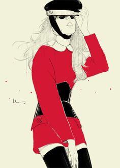 Floyd Grey, Fashion Illustration