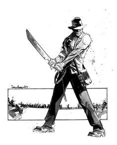 Indiana Jones - Sean Murphy Comic Art