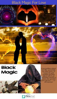 Know how black magic resolve every love issues permanently.
