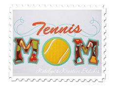 Hey, I found this really awesome Etsy listing at http://www.etsy.com/listing/76269395/tennis-mom-applique-with-a-twist-instant