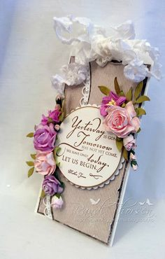 Wild Orchid Crafts: Tag - Yesterday is gone