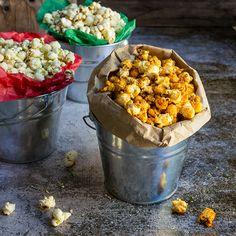 3 holiday popcorn recipes