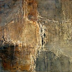 Jeane Myers 'After She Stopped Counting The Steps', oil wax and dry pigment