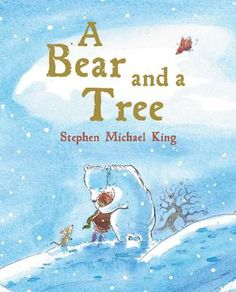 A Bear and a Tree by Stephen Michael King. Bear is about to go into hibernation for the Winter, but Ren wants more time to play. A story of friendship and change.