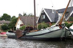 0200552 | Skutsje Sailing Tjalk | 20.38m x 4.20m | €165,000 Incl. VAT | Dutch Barge Specialists