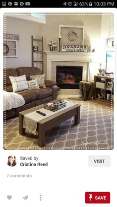 35 Rustic Farmhouse Living Room Design and Decor Ideas for Your Home ...
