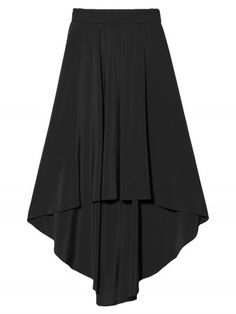 otte {high low skirt}... so trend right. my wedding dress 2 years ago was a high low... Glad to see it now in sportswear!