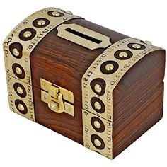 Antique Inspired Safe Money Box Piggy Bank Wooden Toys And Game ShalinIndia http://www.amazon.com/dp/B00ESE9QOU/ref=cm_sw_r_pi_dp_lUKJvb09DNV1X