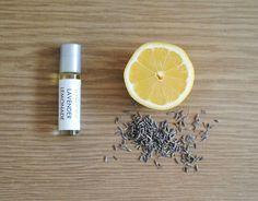 Lavender Lemonade Perfume Oil - Roll On Scent Lemon Citrus Floral Fragrance Essential Oil All Natural