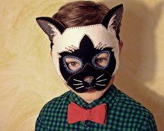 :: Crafty :: Sew :: Kiddo :: Cat Mask PDF Pattern by oxeyedaisey on Etsy