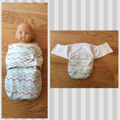 Bitty baby swaddle me - Adjusted size to fit doll