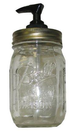 Kountry Krystal Canning Jar Soap Dispenser: Hilarious Redneck Decoration by Highland Graphics, http://www.amazon.com/dp/B007VOLX36/ref=cm_sw_r_pi_dp_-Pq8pb088R3G8