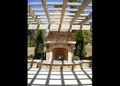 napa outdoor fireplace - Google Search