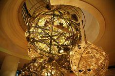 christmas decoration Park Hyatt Hamburg