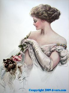Illustration by Harrison Fisher