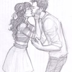 great burdge sketch of new girl's Nick and Jess but it totally reminded me of Ezra and Sadie Couple Drawings, Art Drawings, New Girl Nick And Jess, Cool Works, Cute Drawlings, Cute Kiss, Her Smile, Female Art, Art Photography