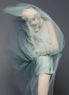 """stormtrooperfashion: Natalie Westling in """"Heavenly Creatures"""" by Sølve Sundsbø for V Magazine, Spring 2015"""