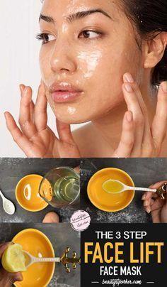 Homemade Skin Tightening Firming Mask eatlivebeauty