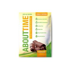 About Time Whey Protein Isolate – Chocolate Single Serving – 1 oz – Case of 12