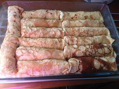 krepes almyres7 Sausage, Pork, Meat, Recipes, Kale Stir Fry, Sausages, Recipies, Ripped Recipes, Pork Chops