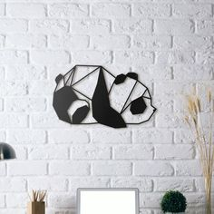 Always living in the bamboo forests, cute pandas might be your guest at home this time! Panda metal wall art is one of the most favorite wall decor for nursery rooms. Panda Love, Cute Panda, Panda Panda, Hello Panda, Metal Wall Decor, Metal Wall Art, Panda Decorations, 3d Prints, Deco Design